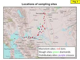 san francisco delta map isotope tracers project kendall et al 2015