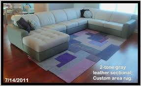 Custom Leather Sectional Sofa Modern Furniture Contemporary Furniture Custom Area Rugs Nj