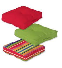 tufted floor cushion outdoor cushions plow u0026 hearth
