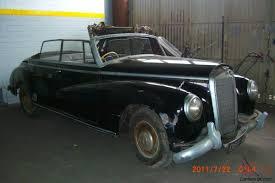 mercedes adenauer 1955 mercedes adenauer convertible 300 b d barn find collector no