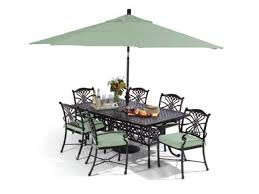 Fortunoffs Outdoor Furniture by Melrose 5 Pc Cast Aluminum Dining Set Fortunoff Backyard Store
