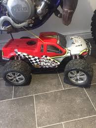 rc nitro monster trucks xtm rc nitro monster truck 1 8th scale 2ft long 28 engine 2