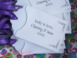 lottery ticket wedding favors wedding favors personalized lottery envelopes lottery ticket