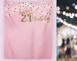 birthday decorations 21st birthday decor etsy