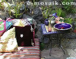Moroccan Patio Furniture Moroccan Mosaic Tiles Tables