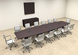 Boat Shaped Boardroom Table Modern Boat Shaped 16 Conference Table Of Con