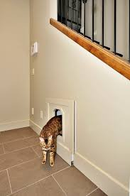 had this installed under the stairs for the litter box both cats
