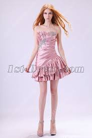 dusty rose cute junior prom dresses short 2013 1st dress com