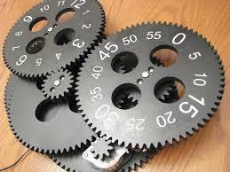 weird clock gear clock kit alan parekh u0027s electronic projects
