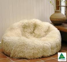 luxury australian merino sheepskin bean bag mdsheepbeanbag