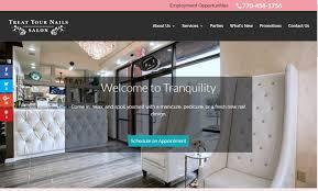 treat your nails doraville ga nail salon web design