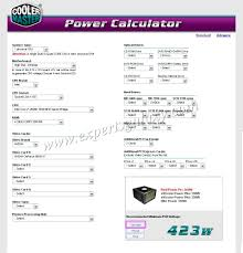 calculate the power supply required by your computer experts galaxy