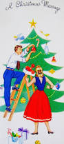 316 best christmas couples vintage cards u0026 ephemera images on