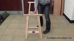 folding sawhorse timber trestles woodworkers benches youtube