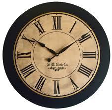 clocks outstanding vintage wall clocks for home large vintage