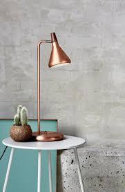 Schlafzimmer Lampe Und Nachttischlampe Die Besten 25 Tischleuchte Kupfer Ideen Auf Pinterest