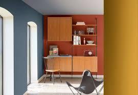 le de bureau bleu peinture dulux bleu gris la couleur de l ée house