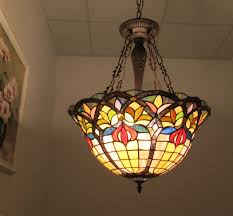Inverted Pendant Lights by Chloe Lighting Inc Tiffany Lamp Tiffany Lamps Tiffany Style