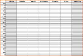 daily calendar template excel 2018 calendar printable