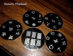 beauty obsessed review as seen on tv salon express nail stamping kit