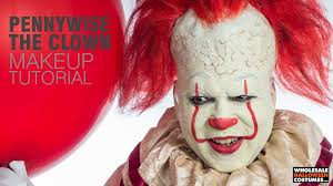 Pennywise Halloween Costume Movie Pennywise Makeup Tutorial Wholesale Halloween Costumes Blog