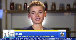 Selfie Meme - justin timberlake s selfie kid reacts to becoming the super bowl s