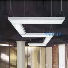 suspended linear light fixtures meeting room lighting linear suspended led luminaire bookstore