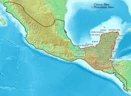 map of mexico yucatan region list of