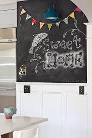 Home Decor Chalkboard Home Tour Chalkboard Wall U0026 Letter A Wall Allen Designs Studio