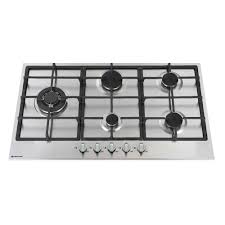 900mm Gas Cooktop 900mm Gas Hob 4 Burner Wok Stainless Steel 600 Mm Size
