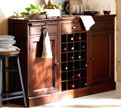pottery barn buffet table classic buffet table with wine rack all furniture decorate classic