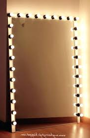 stand alone mirror with lights wall mounted makeup mirror lights make up with light vanity hanging