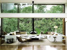 double height windows double height ceiling design living room