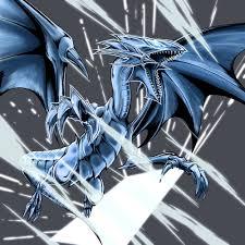 blue eyes white dragon yu gi oh duel monsters zerochan anime