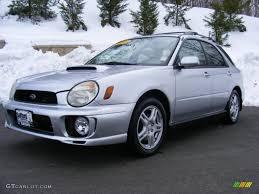 silver subaru wrx interior 2003 platinum silver metallic subaru impreza wrx wagon 26000156