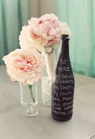 wine bottle wedding centerpieces set of 15 chalkboard vases wedding centerpiece wine bottle black