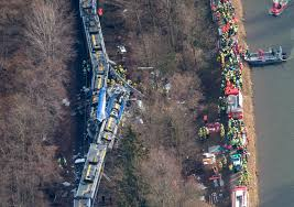 Southern Germany Map by Germany Train Crash Aerial Photo Of The Wreckage Time Com