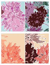 dahlia flower free printable postcards somewhat simple