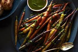 charred carrots with herbs what s gaby cooking