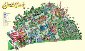 Orlando Parks Map by Park Map Castle Park