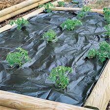 garden weed control black plastic home outdoor decoration