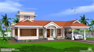 kerala home design with nadumuttam style single floor house design kerala home plans building designs