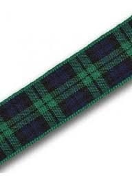 tartan ribbon black tartan ribbon kinloch