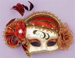 masks for mardi gras and gold masquerade mask