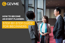 how to become a event planner how to become an event planner a step by step guide for beginners