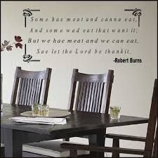 dining room wall decals sayings u2013 decoration