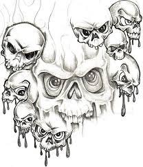 skull adn design img114 skulls demons flash tatto