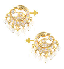 ear studs e723 1 mallika hemachandra jewellers pvt ltd