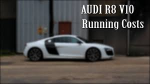 audi insurance audi r8 running costs fuel tyres insurance tax servicing