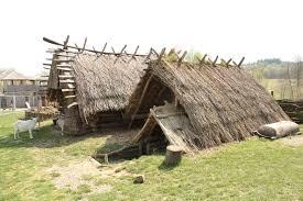 old european culture log cabin
